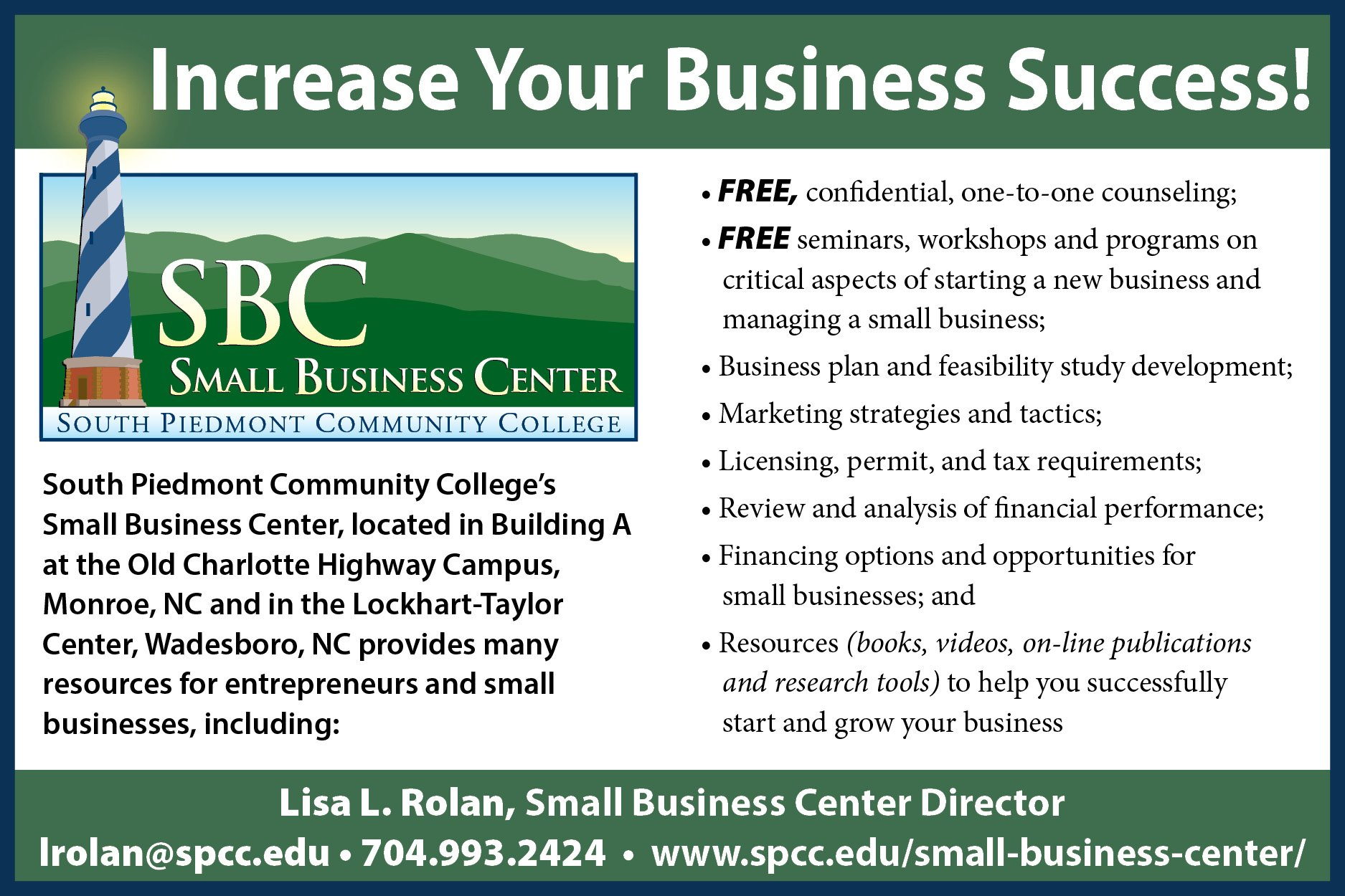 SBC Brochure Increase your Business Success Image