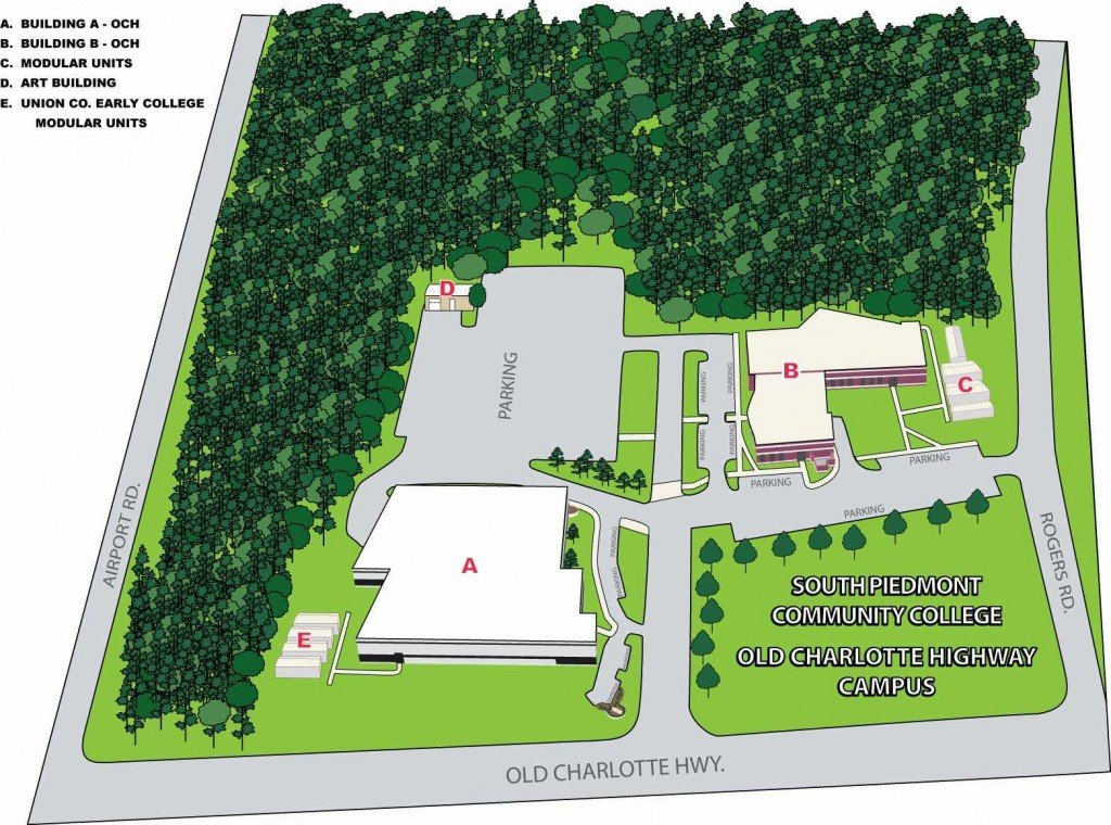 Old Charlotte Highway Campus Map