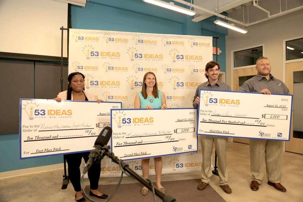 52 ideas pitch winners