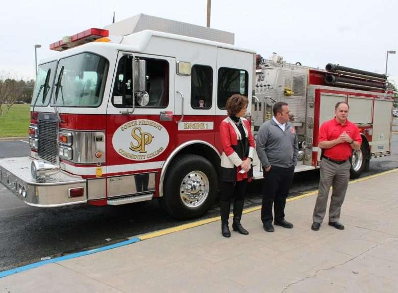 Stallings Fire Truck donation