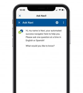 SPCC Navigate App - Ask Navi Chat