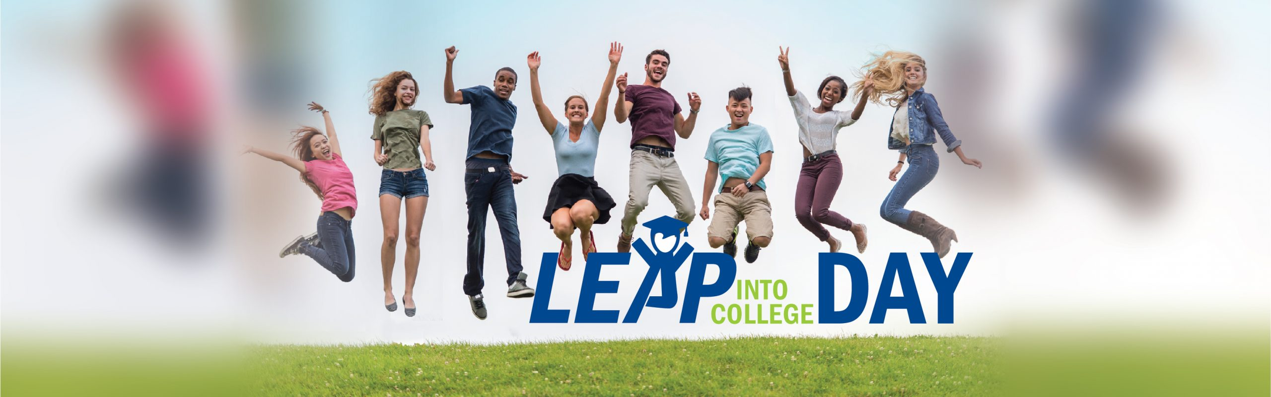 Leap Into College Day Banner