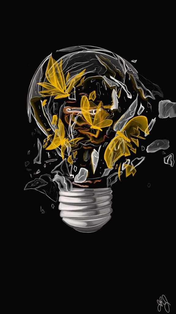 James Johnson Artwork Explosive Light