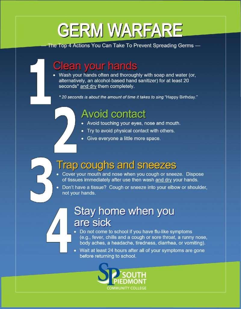Germ Prevention English