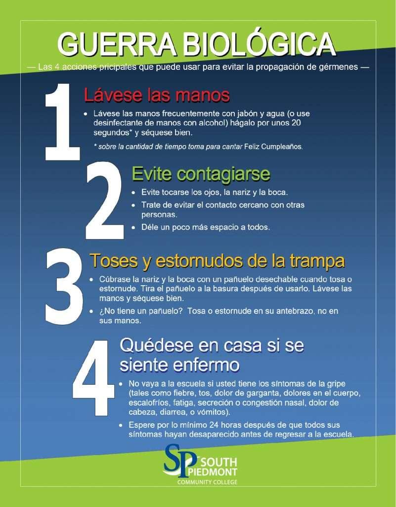 Germ Prevention Espanol