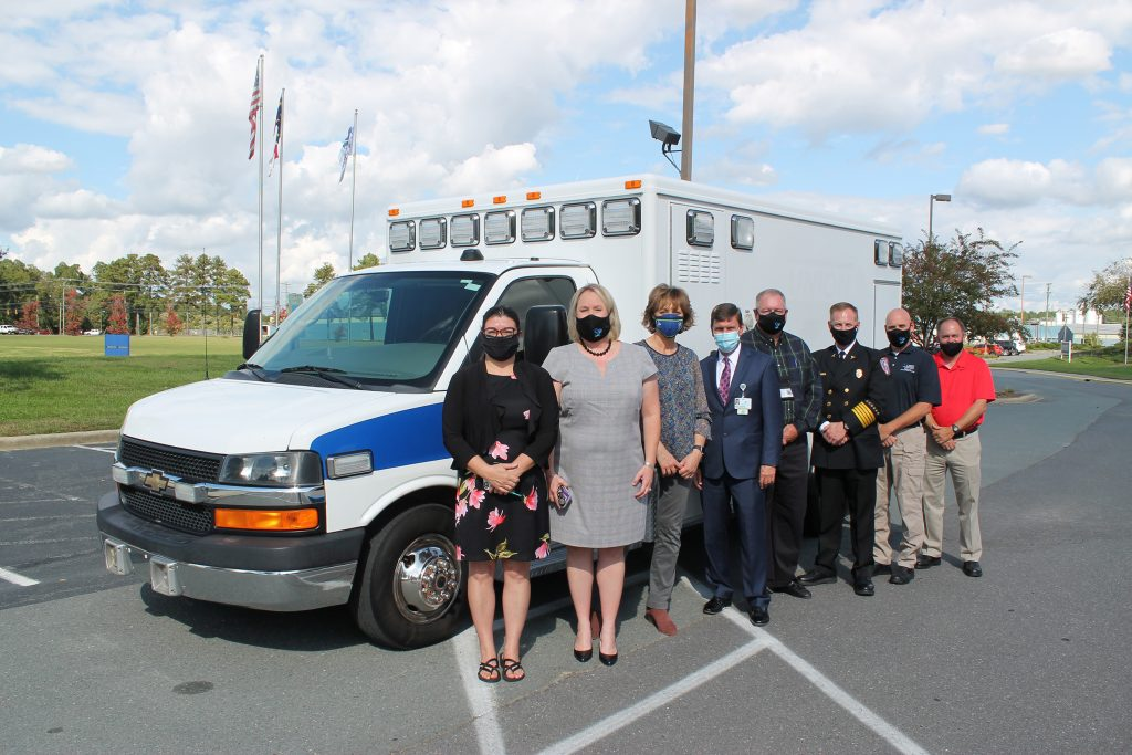 Union EMS ambulance donation