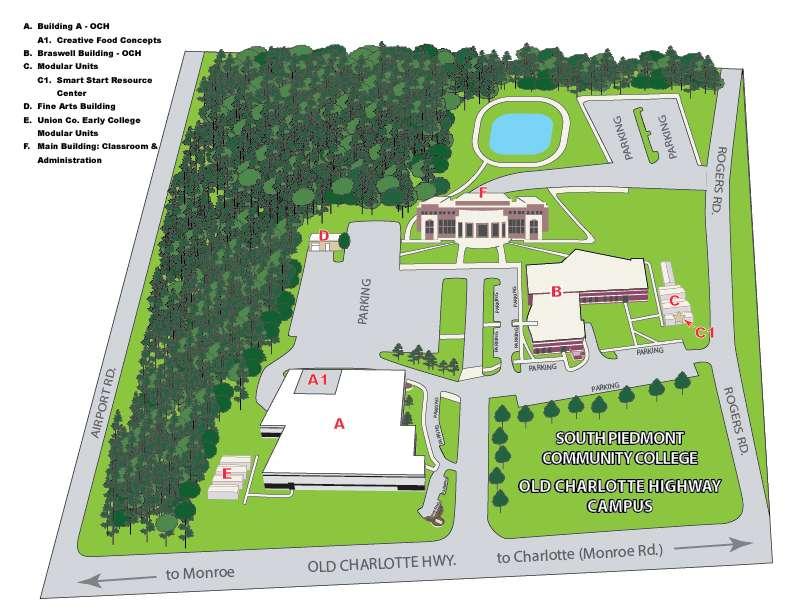 OCH Campus Map