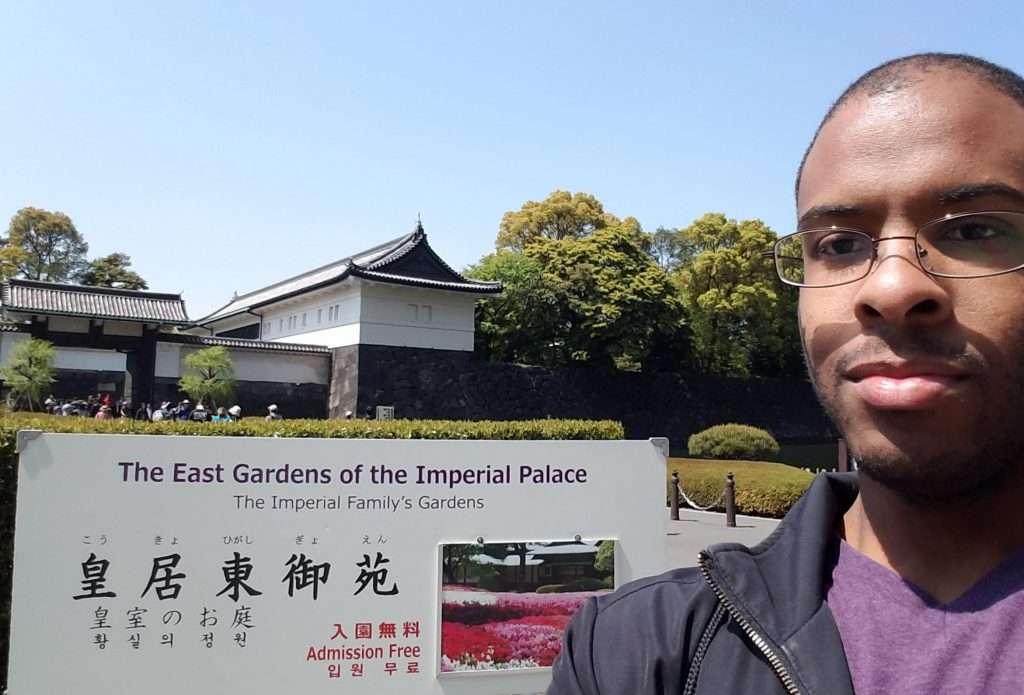 Calvin JOnes in Japan